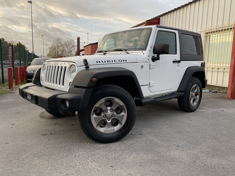 Jeep WRANGLER 2.8 CRD 200CH RUBICON BVA Diesel BRIGHT WHITE - NO Occasion à vendre
